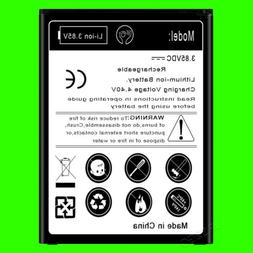 New Extended Slim 4370mAh Replacement Battery for Verizon LG