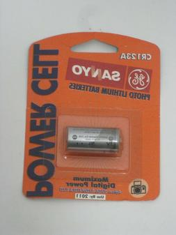 NEW OLD STOCK NOS SANYO PHOTO LITHIUM BATTERY POWER CELL EXP