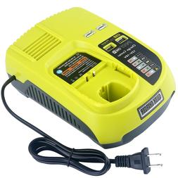 New P117 Replacement Charger for Ryobi ONE+ 18V Ni-Mh & Ni-C