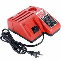 New Replacement 12V & 18V Li-ion Battery Charger for Milwauk