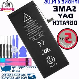 New Replacement Battery For iPhone 6 PLUS A1522 A1524 + Adhe