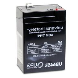 NEW UPG UB645 6V 4.5AH Replacement Battery for BB BP4-6