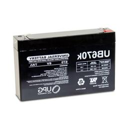 new upg ub670 6v 7ah sla replacement