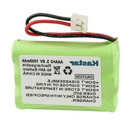 Kastar Ni-MH Battery 3.6V AAA 1050mAh Replace for Y7500 Y752