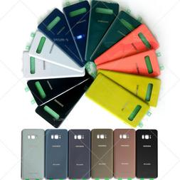 OEM Back Battery Glass Cover Replacement For Samsung Galaxy