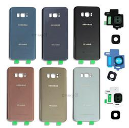 OEM Battery Back Door Glass Cover Replacement For Samsung Ga