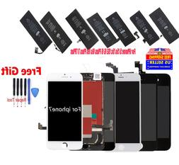 OEM LCD Screen Digitizer Assembly & Battery Replacement for