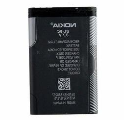 OEM Nokia Replacement Battery 3.7v for Nokia Devices BL-6c