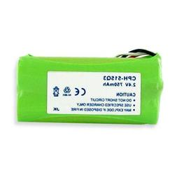 Plantronics CT-14 Cordless Phone Battery 2.4 Volt, Ni-MH 750