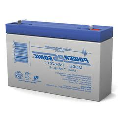 Power-Sonic 6V 7Ah SLA Replacement Battery for Empire Scient