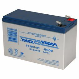Power-Sonic PS-1290-F2 - 12V 9Ah General Purpose SLA Battery