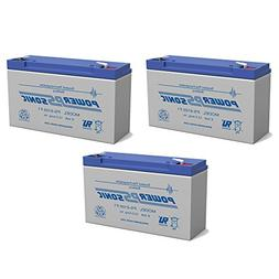 Powersonic PS-6100 6V 12AH SLA Battery Replacement for Carpe