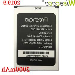 Wisecoco PSP3471 DUO <font><b>Battery</b></font> For Prestig