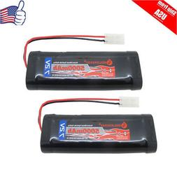 1pcs RC 5000mAh 7.2V Ni-Mh Rechargeable Battery Pack With St