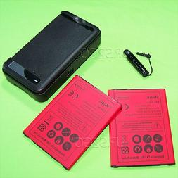 2x 3300mAh Rechargeable Li_ion Extra Battery Special Travel
