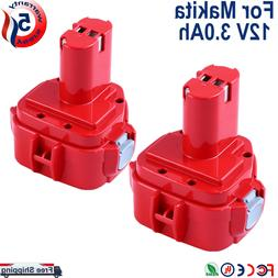 Replace for Makita 12V Battery 3.6Ah 1200 1220 1201 1222 123
