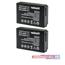 Kastar Replace  Camera Battery for Canon LP-E12 LC-E12 & Can