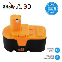 Replace for Ryobi 18v Battery 3.0Ah ONE+ P100 P101 ABP1801 1