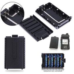 Replacement 6x AAA Batteries Pack Shell Box for Baofeng UV-5