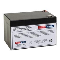 REPLACEMENT FOR UB12120 F2 KID TRAX 12 VOLT 12 AH RECHARGEAB