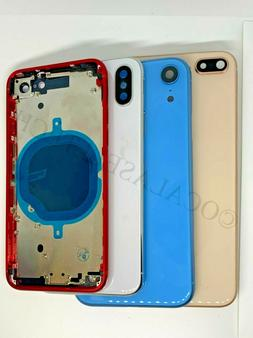 Replacement Back Glass Housing Battery Cover Frame Assembly