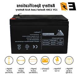 Replacement Battery 4 Power-Sonic UB12120 12v 12Ah 12 volt 1