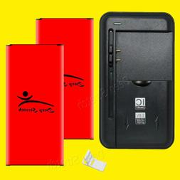 Replacement Battery + Charger for Cricket Samsung Galaxy Hal