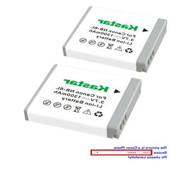 Kastar Replacement Battery for Canon NB-6L NB6LH CB2LY Canon