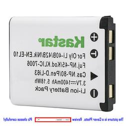 Kastar Replacement Battery for Li-42B NP-45 & Sanyo Xacti VP