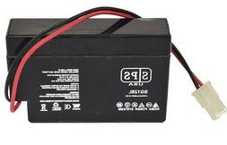 Replacement battery for  Powersonic PS1207WL 12V 0.8Ah with