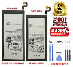 Replacement Battery For Samsung Galaxy S7, S7 Edge with Free