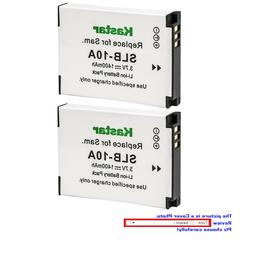 Kastar Replacement Battery for Samsung SLB-10A Samsung WB700