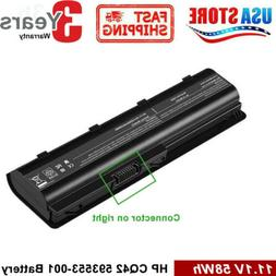 Replacement battery MUO6 MUO9 Spare with 593550-001 636631-0