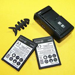 Replacement Battery or USB Charger Fits For LG Rebel 2 L57BL