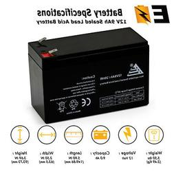 Replacement For Mighty Max 9Ah 12V Sealed BATTERY Aqua Vu Ma