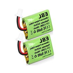 EBL Replacement Headset Battery CS540 84479-01 for Plantroni
