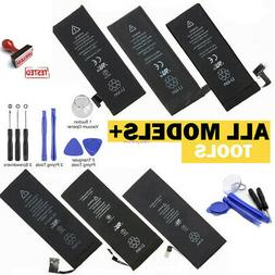 Replacement Internal Cell Phone Battery for iPhone 5 5C 5S 6