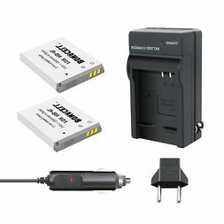 Bonacell 2 Pack Replacement NB-4L 1200mAh Battery and Charge