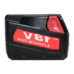 Replacement Power Tool Battery for Milwaukee V18 18-volt 48-