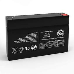 AJC Brand Replacement Battery for GE Simon XT 6V 1.3Ah Alarm