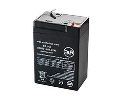 Teledyne Big Beam S-65 6V 4.5Ah Emergency Light Battery - Th