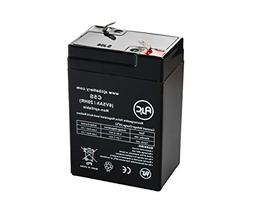 Tork 650 6V 5Ah Emergency Light Battery - This is an AJC Bra