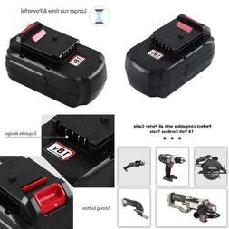 Upgraded 3.6Ah Replace For Porter Cable 18V Battery PC18B PC