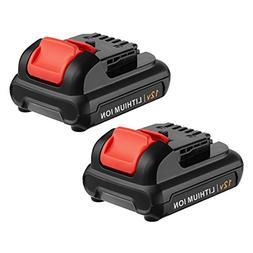 FirstPower Upgraded 4.0Ah 12V Max Lithium-Ion Battery Compat