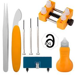 Watch Battery Replacement Tool Kit for Watch Back Case Remov